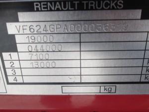 RENAULT PREMIUM HR 460.19 DXI EEV - Niska Kabina