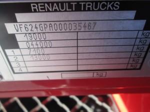 RENAULT PREMIUM HR 460.19 DXI EEV - Wysoka Kabina